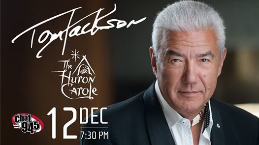 Tom Jackson with The Huron Carole