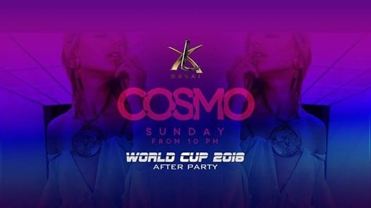 Cosmo Sunday l World Cup After Party