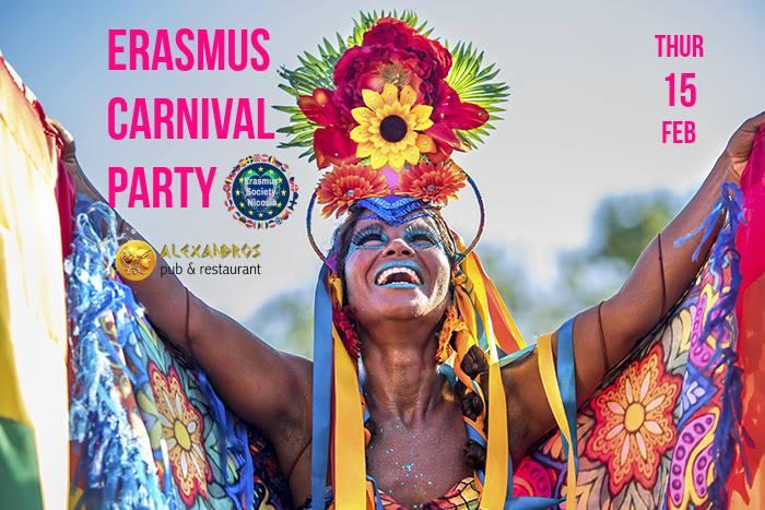 Erasmus Carnival Party