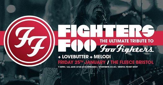 Fighters Foo  LoveButter  Melodi at The Fleece Bristol