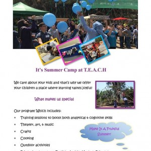 TEACH Summer Camp