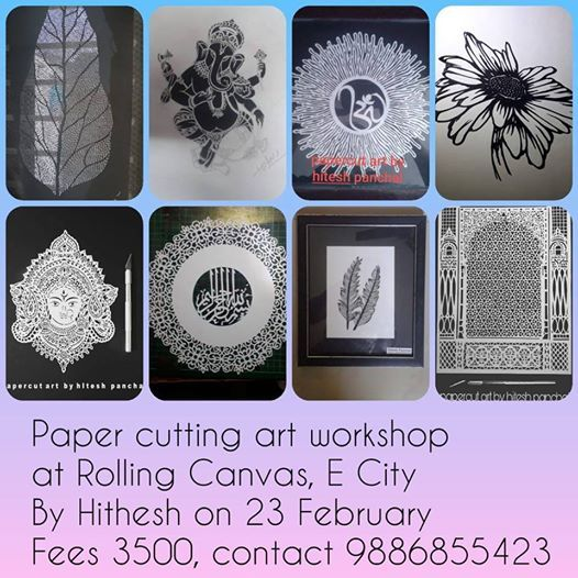 Paper Cutting Art - With Hitesh Panchal