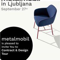 Design Tour Event in Ljubljana by Metalmobil