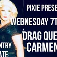 Pixie presents cabaret at the William Morris with Carmen dioxide