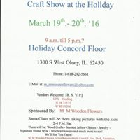 Holiday Inn Olney Il Craft Show