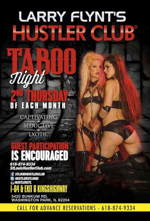 Taboo Night At Larry Flynts Hustler Club StLouis East Saint Louis