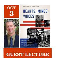 Hearts Minds Voices Guest Lecturer Jason C. Parker
