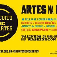 Valinhos recebe o Circuito Sesc de Artes 2017