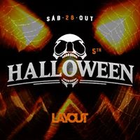 Halloween Layout Bar 28 de Outubro.