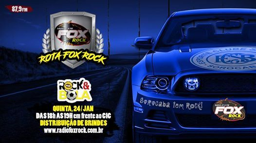 Rota Rdio Fox Rock com distribuies de prmios