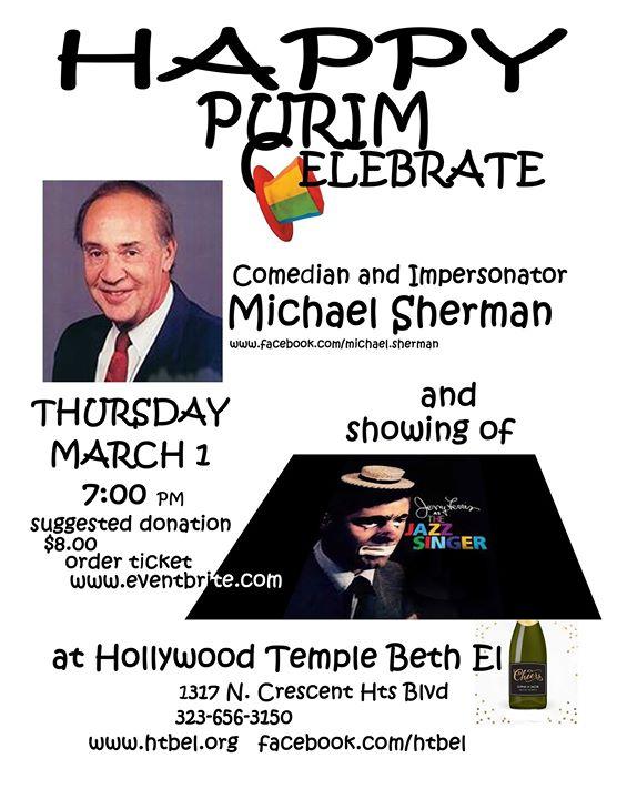 Purim Comedy Night