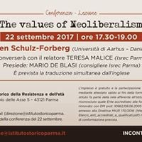 The Values of Neoliberalism con Hagen Schulz-Forberg