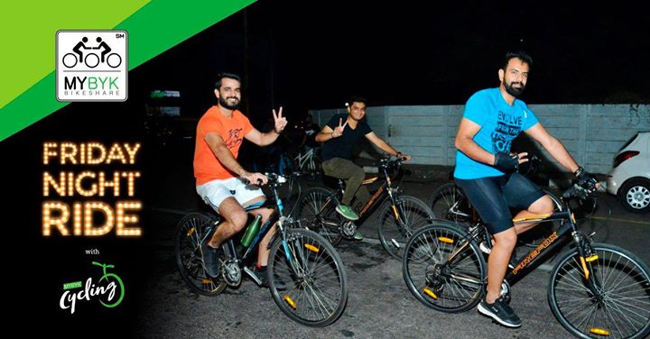 Friday Night Ride with MYBYK Cycling - Dec 15