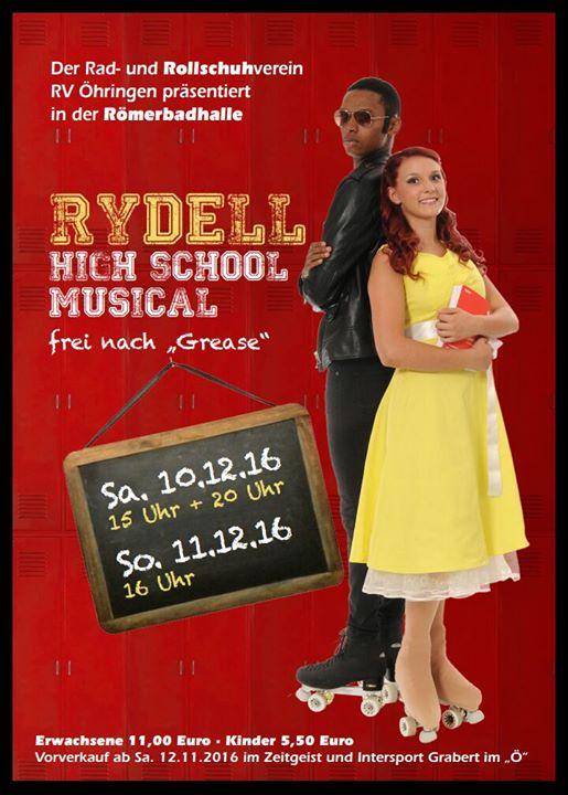 Zeitgeist öhringen rydell high musical at römerbadhalle öhringen