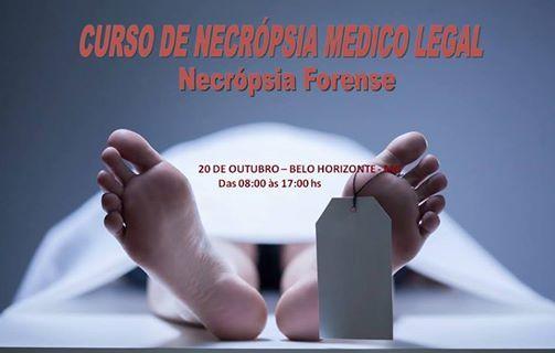 Curso de Necropsia Forense - Belo Horizonte