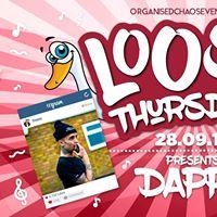 LOOSE Presents Dappy  Thursdays at Plug