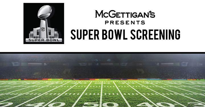 Super Bowl At McGettigans