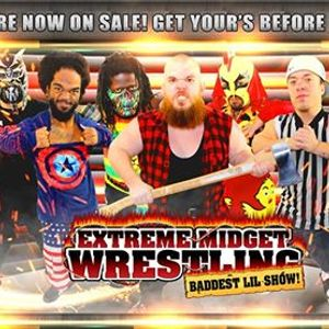 Extreme Midget Wrestling in Altoona IA at Adventureland Resort