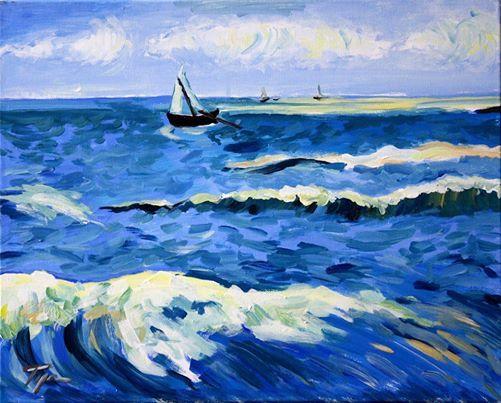 ArtNight ArtNight Pro Paint Like Van Gogh  Das Meer am 1208