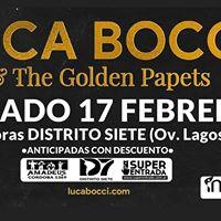 Luca Bocci &amp The Golden Papets en Rosario