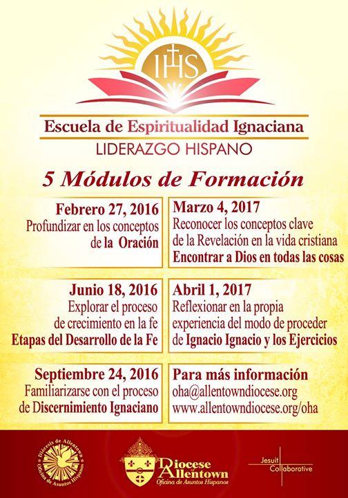 Escuela De Espiritualidad Ignaciana Diócesis De Allentown
