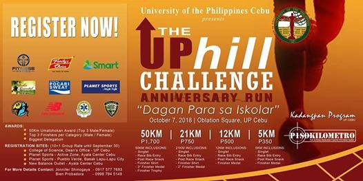 The UPhill Challenge Anniversary Run 2018