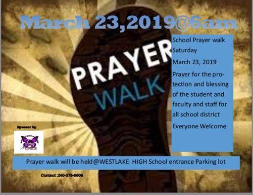 School Prayer Walk