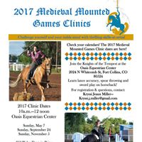 September Medieval Mounted Games Clinic