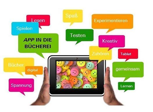 App in der Bcherei - Imagoras