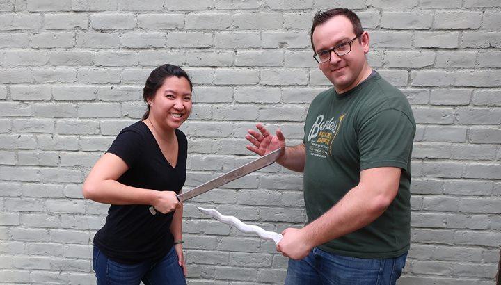 Molten Metal Sword Casting class