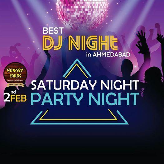 Saturday Night Party Night