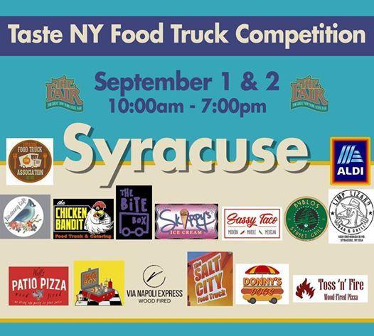 Nys Fair Food Truck Competition At Nys Fair Syracuse Fairgrounds