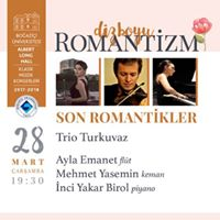 Trio Turkuvaz - Albert Long Hall Klasik Mzik Konserleri