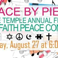 Peace by Piece Free Interfaith Peace Concert