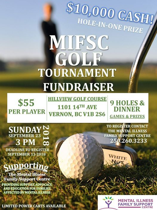 Mifsc Golf Tournament Fundraiser At Hillview Golf Vernon Vernon
