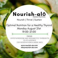 Optimal Nutrition for a healthy Thyroid