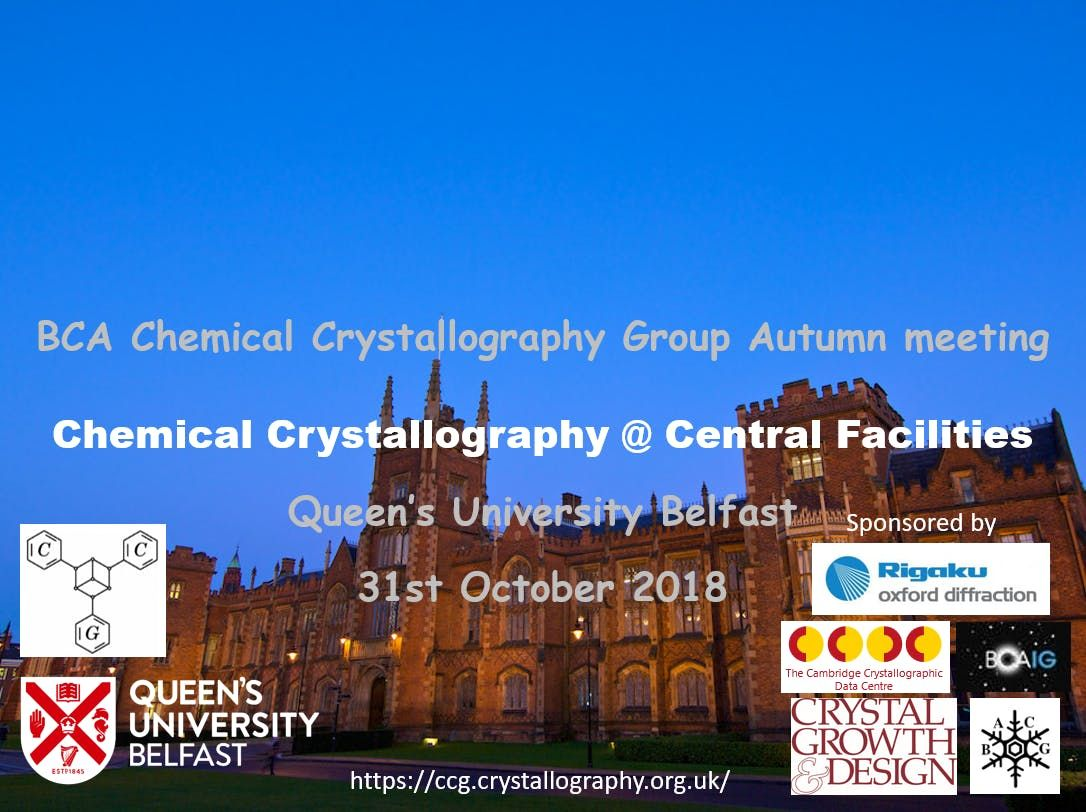 Chemical Crystallography  Central Facilities