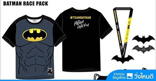 Batman Pattaya Night Run 2019