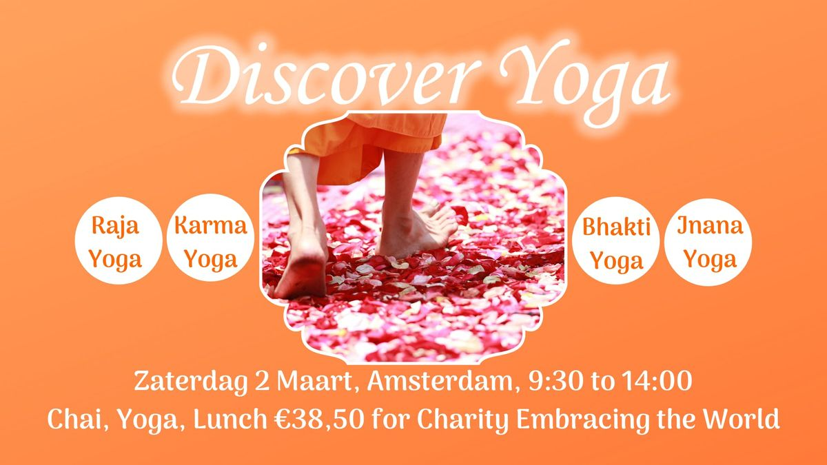 Yoga Charity Event in Amsterdam