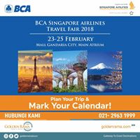 BCA Singapore Airlines Travel Fair 2018