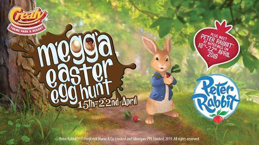 Crealys Megga Easter Egg Hunt - Plus Meet Peter Rabbit