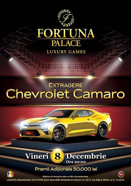 Chevrolet Camaro RS-220.000 lei premii totale
