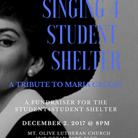 Singing 4 Student Shelter A Tribute to Maria Callas