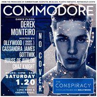 The Commodore Club with DJ Derek Monteiro  Saturday