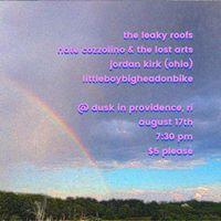 Leaky RoofsNate Cozzolino &amp The Lost ArtsJordan KirkLBBHoB