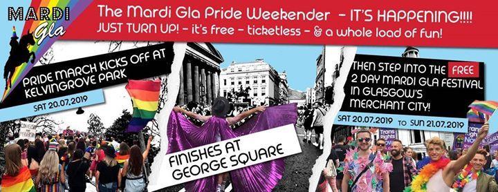 Glasgows Pride March - And Free Mardi Gla