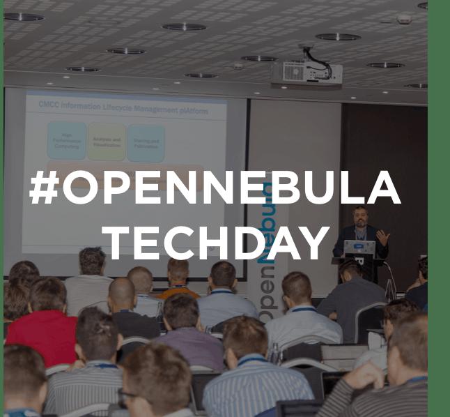 OpenNebula TechDay Frankfurt 2019