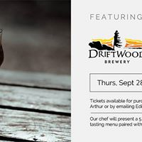5 Course Driftwood Brewery Beer Pairing Dinner