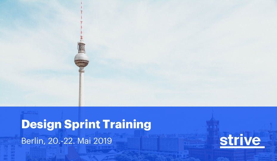 Certified Design Sprint Training (2 Tage)  Prototyping Workshop