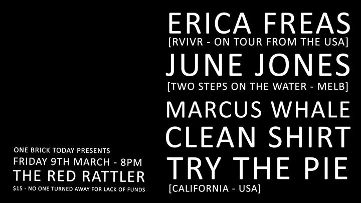 Erica Freas June Jones Marcus Whale Clean Shirt and TryThePie